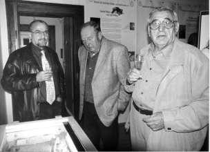 Georg Mertel, Werner Sörgel, Dr. Otto Braun