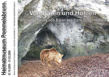 Plakat Höhlenbär