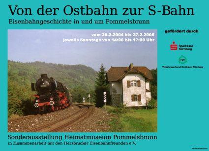 Plakat Eisenbahn